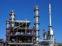 Rafinery de pétrole en Europe Photographie stock