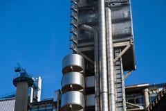 Rafinery del prodotto chimico di energia del gas di olio Fotografia Stock