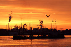 rafineryjny jutrzenkowa zdjęcia stock