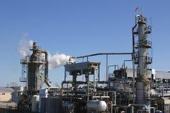 rafineryjny ropy naftowej Fotografia Stock