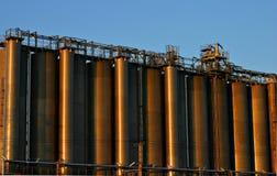 rafineryjny ropy naftowej Obrazy Stock