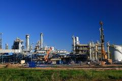 rafineryjny ropy naftowej Obrazy Royalty Free