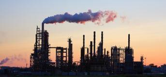 rafineryjny słońca Fotografia Stock