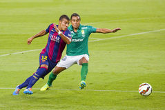 Rafinha in action Royalty Free Stock Images