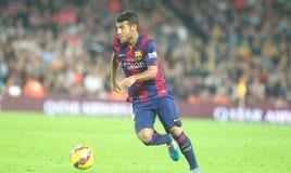 RAFINHA FC BARCELONE Fotografie Stock