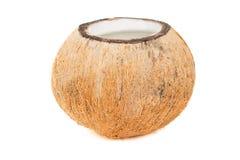 Rafraîchissement tropical de noix de coco image libre de droits