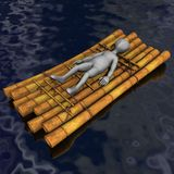 Raft Royalty Free Stock Photos
