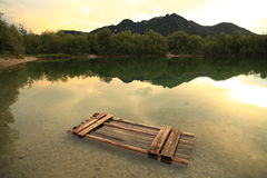 Raft Stock Image