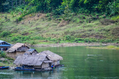 Raft home Royalty Free Stock Photography