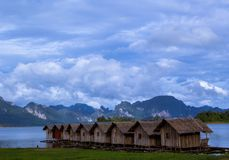 Raft house Royalty Free Stock Photography