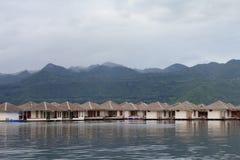 Raft houses Stock Photography