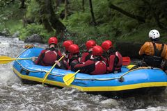 Raft rear Stock Images