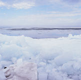 {Rafted Ice Phenomena - II.} Stock Photo