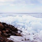 {Rafted Ice Phenomena - III.} Royalty Free Stock Image
