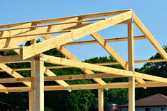 Rafters Royalty Free Stock Photo