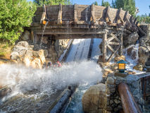 Free Rafters Enjoying The Grizzly River Run, Disney California Adventure Park Stock Images - 68508664