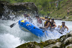 rafting κόσμος luka banja του 2009 champs Στοκ Εικόνα