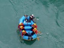 rafting λευκό ύδατος στοκ εικόνες