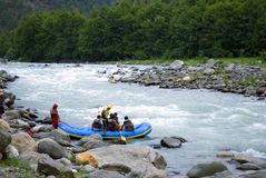 rafting λευκό ύδατος