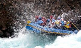 rafting ποταμός στοκ εικόνες