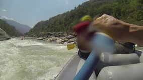 Rafting στον ποταμό dudh-Koshi φιλμ μικρού μήκους