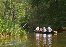 Rafting στον ποταμό Krutynia στοκ φωτογραφία