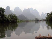 Rafting στο Yangtze στοκ εικόνα με δικαίωμα ελεύθερης χρήσης
