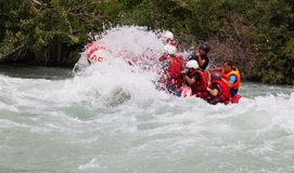 Rafting Royalty Free Stock Photography
