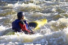 Rafting Στοκ Φωτογραφία