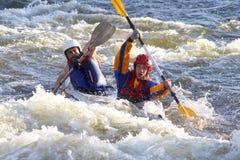 Rafting Στοκ Εικόνα