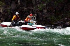 Rafting Royaltyfria Foton