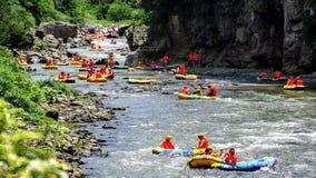 Rafting stock foto's