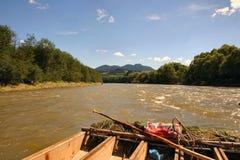 rafting Royaltyfria Bilder