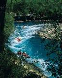 rafting Royaltyfri Foto