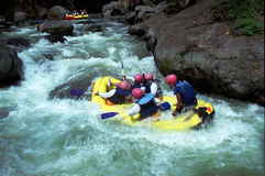 Rafting Stock Image