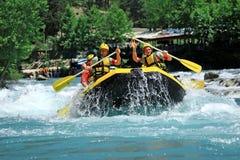 Rafting in Antalya Turkije Royalty-vrije Stock Foto
