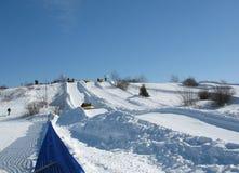 rafting av snow Royaltyfri Bild