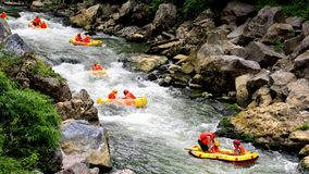 Rafting Stock Photography
