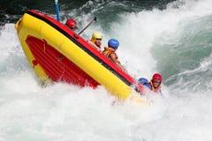 Rafting del fiume Fotografie Stock