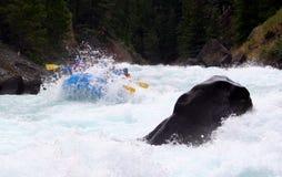 Rafting del fiume Fotografie Stock Libere da Diritti