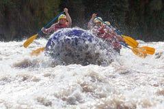 Rafting del fiume di Whitewater Immagine Stock Libera da Diritti