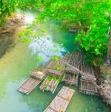 Rafting del fiume White a St Mary, Giamaica - Ocho Rios immagini stock libere da diritti