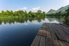 Rafting di Riverkwai Fotografie Stock Libere da Diritti