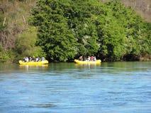 Rafting in El Fuerte. Wildlife watching river tour in El Fuerte, Mexico Stock Photos