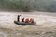 Rafting fun Stock Image