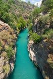 Rafting in the green canyon, Alanya, Turkey Royalty Free Stock Photos