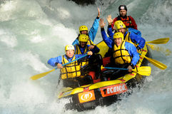 Rafting Royalty Free Stock Photo