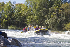 Rafting Royalty Free Stock Images