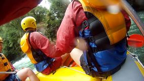Rafting on the Kaituna River with GoPro stock footage