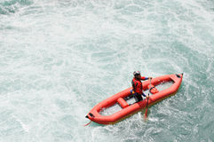 Rafting, Kayaking, extreme, sport, water, fun Stock Image